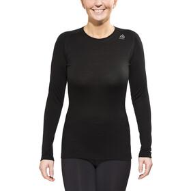 Aclima Lightwool - T-shirt manches longues Femme - noir